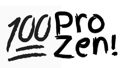 """Markenanmeldung der Podcast-Reihe """"100 pro zen!"""""""