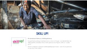 Skill Up! eine Kooperation von Bauer Charity und der Welthungerhilfe